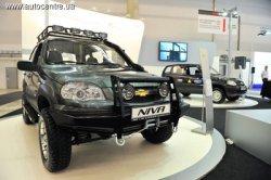 Тюнинг для бездорожья превратит Chevrolet Niva в вездеход